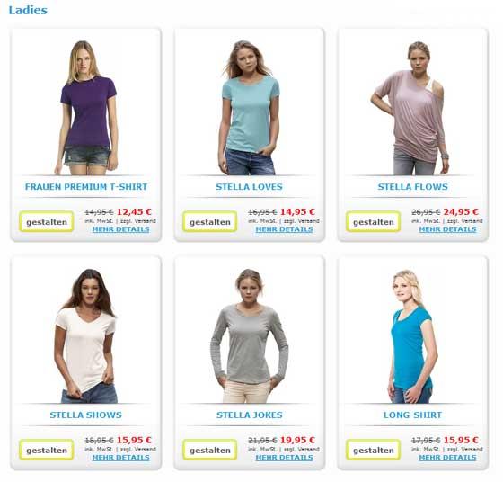 Shirt Selbst Designen Frauen t Shirt Selbst
